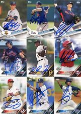 AUSTIN RILEY SIGNED 2016 TOPPS PRO DEBUT ROOKIE CARD AUTO