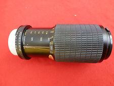 OSAWA Camera Lens 80-205mm 1:4.5. Comes in its original bag.