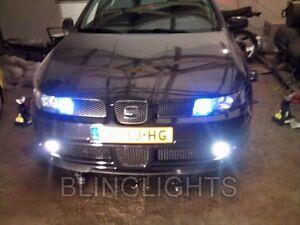 Seat Leon Xenon Halogen Driving Fog Lamps Light Kit León Mk1 (1M) Pair
