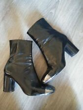 ankle boots stivaletto in vernice Zara woman