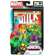 Marvel Universe ~ WOLVERINE vs HULK Action Figure Set - Greatest Battles #181