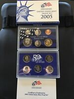 2005 United States Mint Proof Set w/Box and COA