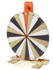 """IKEA Tabletop 15"""" Prize Wheel Spinner 24 Slots Numbers Colours Symbol Spin Game"""