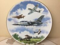 Royal Doulton Royal Airforce 75th Anniversary 1918-1995 Collectors Plate Perfect