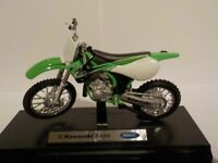 Motorbikes, Kawasaki KX 250,  New & Sealed 1/18