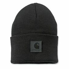 Carhartt Black Label Watch Hat  | 101070 | Mütze | Beanie | NEW | Schwarz | Orig