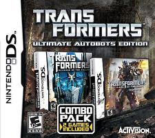 TRANSFORMERS REVENGE OF FALLEN + DARK OF MOON DS NEW! NDS, LITE, DSI, XL, 3DS!