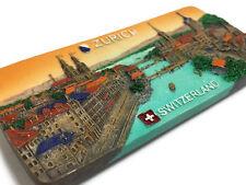 Zurich Switzerland High Quality Resin 3d Fridge Magnet SOUVENIR TOURIST GIFT 099
