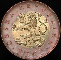 2009 | Czech Republic 50 Korun | Bimetallic | Coins | KM Coins