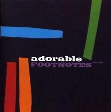 Footnotes-Best Of 1992-94 - Adorable (2011, CD NIEUW)