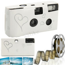 Hearts Disposable Camera 36 Photos Exposure Single Use for Wedding Party Supply