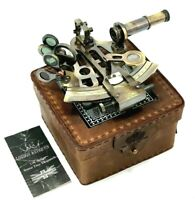 Antique Sextant Maritime Nautical Vintage Marine Astrolabe Ship's Instruments