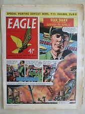 Eagle Comic Vol 10 No 11: Dan Dare DIESEL RAILBUSES FOR RURAL LINES -14th March