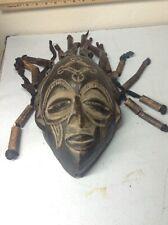antique chokwe african wood mask masks carving sculpture