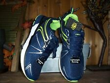 ATHLETIC WORKS MENS RUNNING SHOES SIZE 9.5 COLOR BLUE MENS ATHLETIC SHOES NEW
