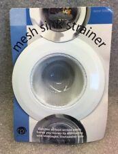 2 pack White Mesh Sink Strainer Kitchen Mesh Sink Strainers
