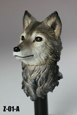 1/6 Wolf Head Sculpt with movable eyes Z-01-A