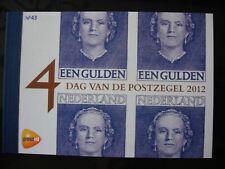 PRESTIGEBOEKJE PR 43 DAG VAN DE POSTZEGEL 2012 CAT.WRD. 16,00 EURO