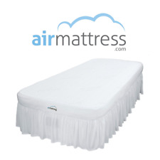 Air Mattress TWIN XL size - Best Choice RAISED Inflatable Bed with Fitted Sheet