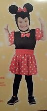MINNIE MOUSE  CHILDRENS TODDLER   FANCY DRESS OUTFIT/COSTUME AGE 3 NEW