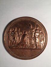 Médaille Charles X. Sacre à Reims, 1825 par Gatteaux