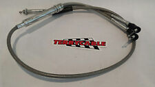 Banshee Terrycable Steel Braided Twist Throttle Cable Keihin PWK Large Carbs