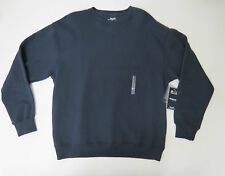 Sweater Mens Medium Roundtree & Yorke Sport  Navy Blue Crew Neck ProLuxe Fleece