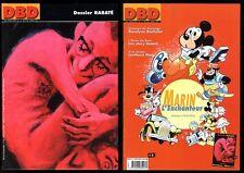 LES DOSSIERS DE LA BANDE DESSINEE (DBD) n°13 RABATE décembre 2001 Etat neuf