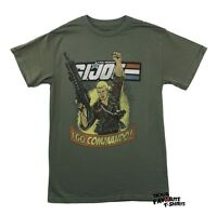 G.I. Joe 80's Cartoon Duke I Go Commando Licensed Adult T-Shirt