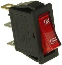 Rocker Power Switch with 24 Volt (24V) Light for Electric Scooters (SWT-105)