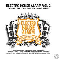 Cd Electro House Alarm ! 3 pres. By Dj Tom di vari artisti 2cds