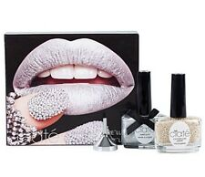 CIATE Caviar Luxe Pearls Manicure Nail Art Kit -SMOULDER Silver Polish Paint Pot