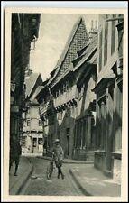 BRAUNSCHWEIG Niedersachsen AK um 1910/20 Junge mit Einrad am Meinhardshof ungel.