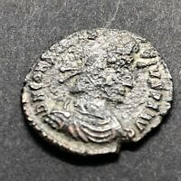 Ancient Constantine II 337-361AD Coin Authentic Copper Roman Empire Artifact Old