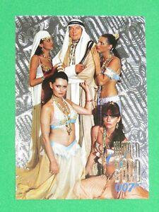 1996 James Bond 007 Connoisseur COLLECTION VOL 2 F/X-TCH Women INSERT Card W18!
