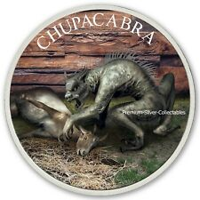 2019 USA Cryptozoology Series Chupacabra! - Silver Colorized Series!