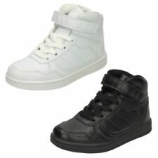 Casual Trainers Synthetic Shoes for Boys with Hook & Loop Fasteners