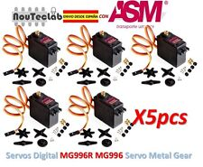 5pcs MG996R MG996 Metal Gear RC Servo High Speed & Torque RC CAR 1/8