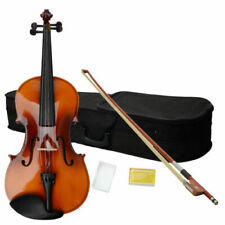 """16 Inch Brown Adult Acoustic Viola With Case Rosin Bow 16"""""""