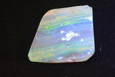 84.63 carat Australian Boulder opal Specimen 38 mm x 32mm Beautiful Color