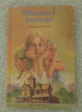 1987 Who Am I Anyway? By Barbara Corcoran Hardcover