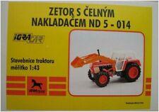 IGRA Plastic Model Kit 1/43 GDR Tractor Zetor ND5-014