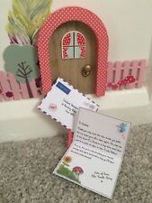 Personalised miniature Tooth Fairy letter and envelope keepsake under Pillow