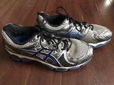 Asics Gel Nimbus 14 Mens Running Shoes Gray Blue Athletic Sneakers T241N US 9.5