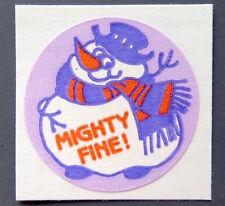 Vintage TREND Stinky Stickers VANILLA matte Scratch-N-Sniff sticker - No TM