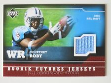 COURTNEY ROBY UpperDeck 2005 ROOKIE Futures Jersey Card #RF-CR TENNESSEE TITANS