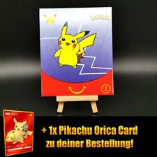 25th Pokemon Anniversary McDonalds Booster