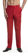 CONCITOR Men's Dress Pants Trousers Flat Front Slack Huge Selection Solid Colors