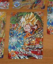 DRAGON BALL Z DBZ DBS HEROES CARD PRISM HOLO CARTE HG7-CP4 CP MADE IN JAPAN NM