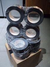 4 ROLLS BLACK GAFFER GAFFA DUCK DUCT TAPE 5OM X 48MM WATERPROOF CLOTH TANK